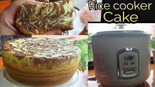 Rice Cooker Choco Marble Cake/Condensed milk Cake