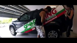 Sportzing Ford Escape Sign Wrap