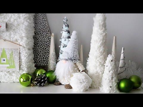 DIY Christmas Decorations - 10 Beautiful Ideas Using Fake Fur for Holiday Decor