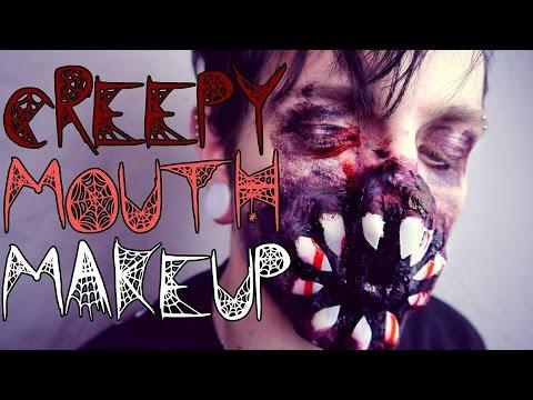 CREPPY MOUTH MAKEUP  HALLOWEEN TUTORIAL  Max Amphetamine & Verena Schizophrenia