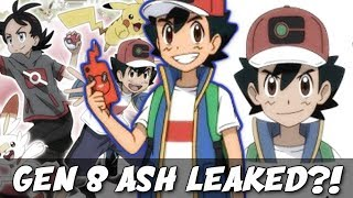 ☆ASH KETCHUM GEN 8 DESIGN LEAKED?! // Pokemon Sword & Shield Gen 8 Anime Discussion☆