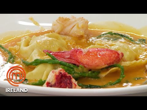 Lobster Ravioli By Irish Home cook – Masterchef Ireland – Masterchef World