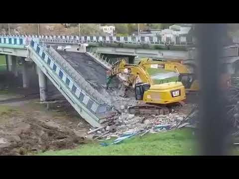 Zawalenie wiaduktu w Koszalinie