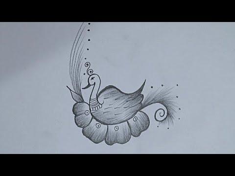 Drawing Peacock Easy Peacock Pencil Drawing Easy How To Draw Peacock Drawing Mayur Drawing Youtube