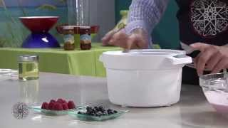 Choumicha : Glace de yaourt aux fruits rouges | شميشة : مثلجات الياغورت بالفواكه الحمراء