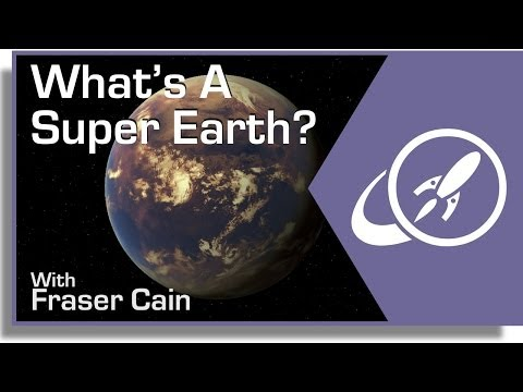 What Is A SuperEarth?