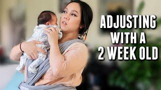 Adjusting Life with a 2 Week Old Baby - itsjudyslife