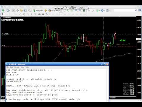 ROBOT FOREX PENDING ORDER BUY STOP/SELL STOP 2015