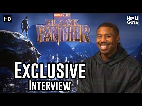 Michael B. Jordan - Black Panther Exclusive Interview