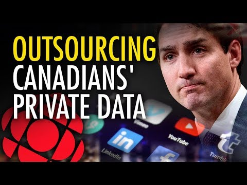 Why is Trudeau's CBC sharing your private data with foreign lobby groups?