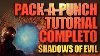 TUTORIAL: Como fazer PACK-A-PUNCH no Shadows of Evil - RITUAIS BO3 Zombies