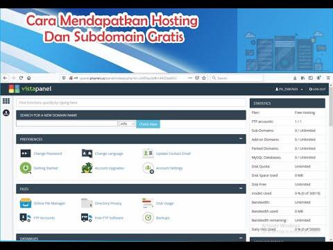 cara-mendapatkan-hosting-gratis-+-subdomain-|-cpanel-gratis-2020