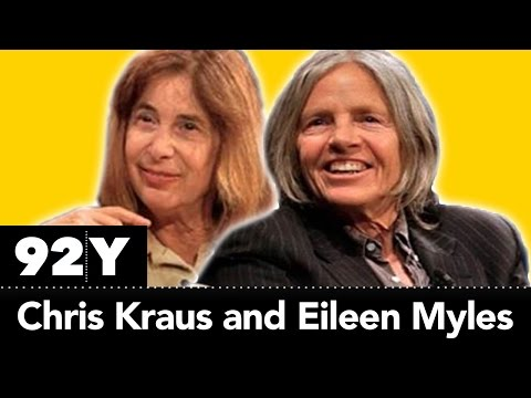 Eileen Myles & Chris Kraus discuss being a young writer and building community