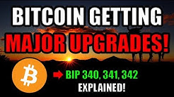 Great News! Bitcoin Is Getting 3 Major Upgrades! 🚀 [Schnorr, Taproot, Tapscript]