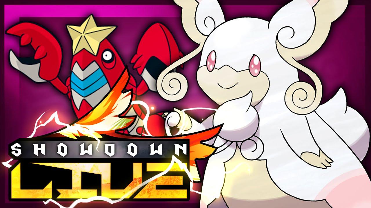 Pokemon Showdown Live 8: Healing Wish Mega Audino w