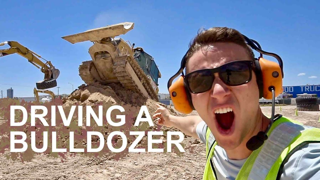 YOU can drive a Bulldozer in Las Vegas - DIG THIS BEST OF LAS VEGAS