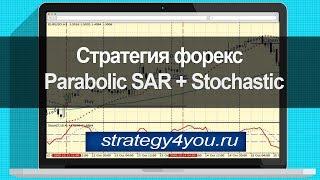 Стратегия форекс Parabolic SAR + Stochastic