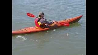 Paul's First Test Drive Of His Pygmy Pinguino 4pd Kayak He Built