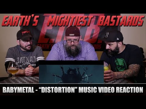"Music Video Reaction: BABYMETAL - ""Distortion"""