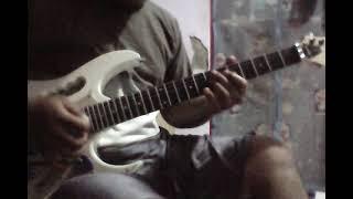 yulia citra menyulam kain yang rapuh - cover guitar