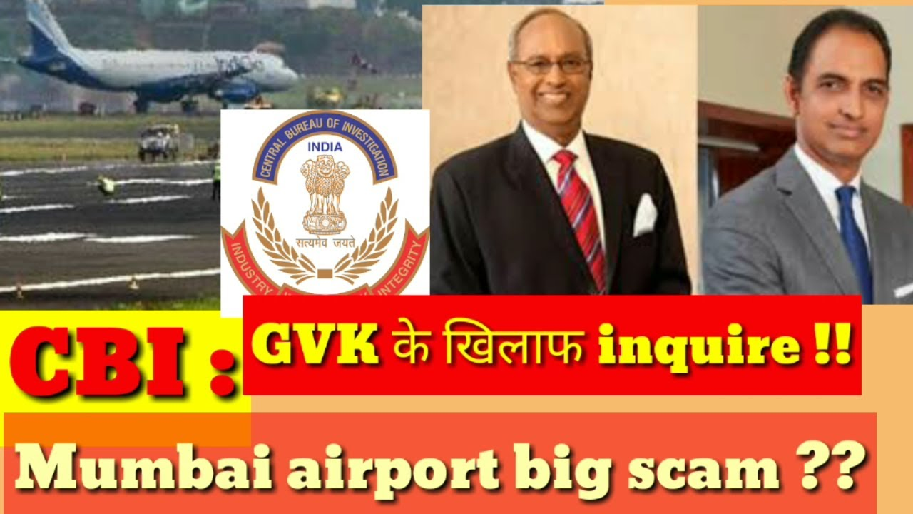 CBI Files Case On GVK And His Son Sanjay Reddy For 705 Crore Scam