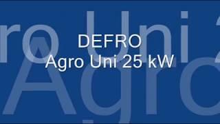 DEFRO Agro Uni 25kW πρωτο  αναμμα.wmv(Εγκατάσταση 2 λεβήτων DEFRO Agro Uni 25Kw Πρώτο άναμμα με καύσιμο ECO groszek και πελλετ., 2012-03-13T17:38:30.000Z)