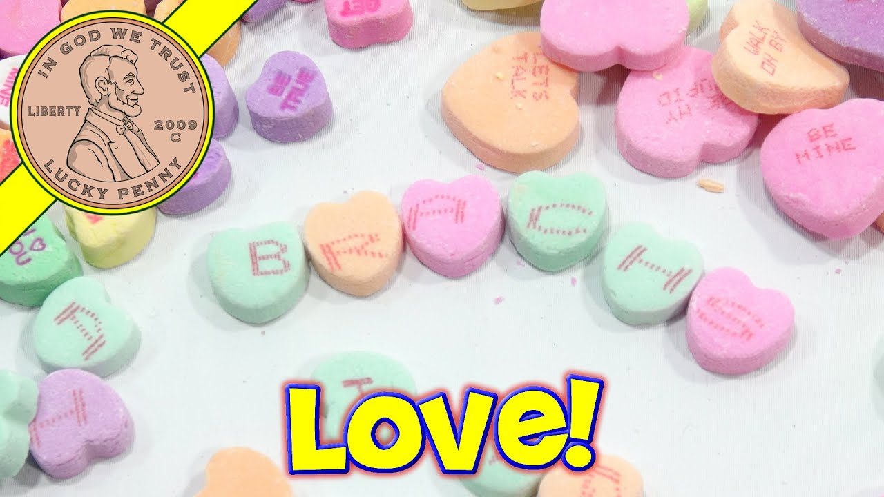 brach's conversation hearts, send some love with candy! - youtube