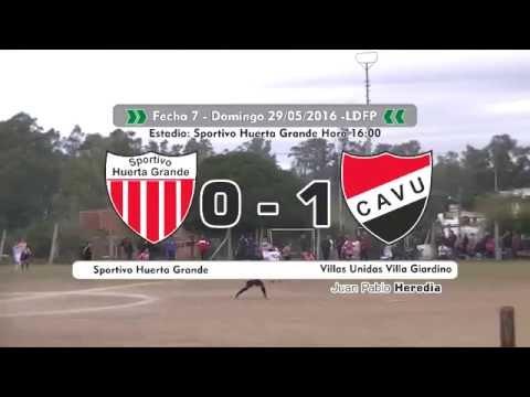 El Deportivo tv P11B01 - Resumen fecha7 Sp. Huerta Grande vs Villas Unidas