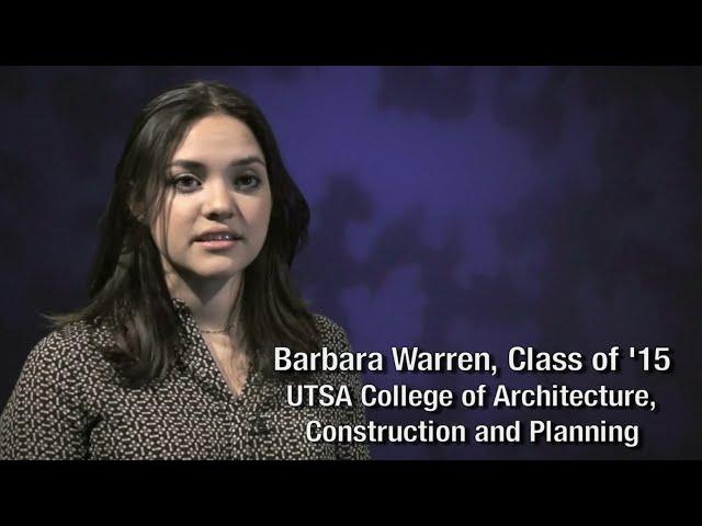 UTSA Commencement CloseUp: Barbara Warren