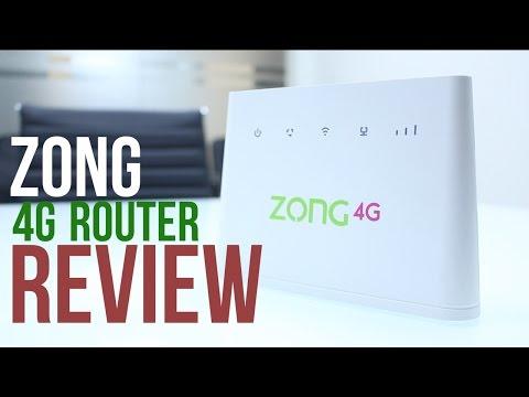 Zong 4G Router (Bolt Ultra) Review [Urdu]