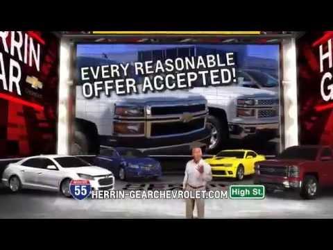 Herrin Gear Chevrolet Labor Day Weekend Specials Youtube