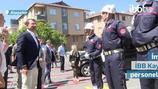 İBB Başkanı Ekrem İmamoğlu'ndan bayram ziyareti