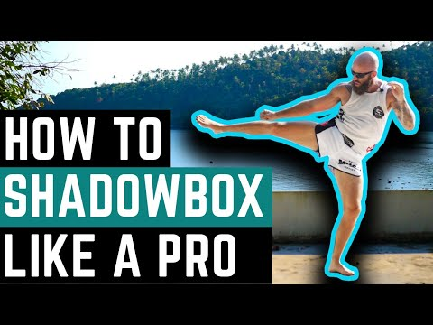 How To Shadow Box Like a Pro Muay Thai Fighter