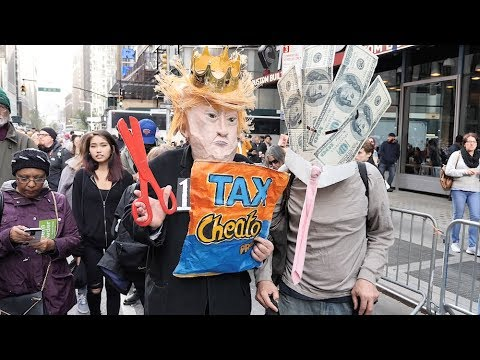 Exposing Provocateurs at November 4th Protests in New York