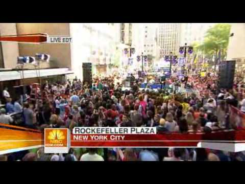 The All-American Rejects - I Wanna (Today Show Performance)