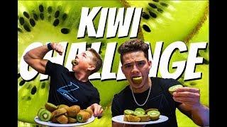 Jeff Nippard's KIWI CHALLENGE by Carlin Powe Ft. Will Kemp    SPEED EATING CHALLENGE