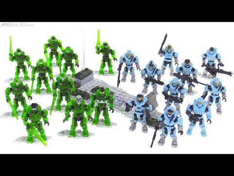 Mega Construx Halo Faithful vs. Fallen figure pack review