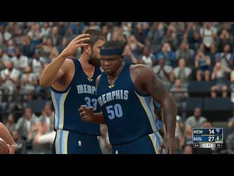 NBA 2K17   Memphis Grizzlies vs minnesota Timberwolves FULL GAMEPLAY (PS4/Xbox One)
