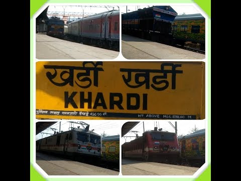 Father of all overtakes!!! 10 overtakes for a train at Khardi!!!