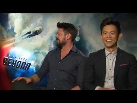 Chris Pine and John Cho: Rock Stars