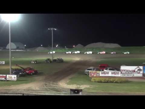 IMCA Modified B-Main Marshalltown Speedway 5/26/17