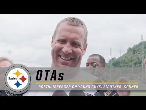 Ben Roethlisberger talks young guys, OC Fichtner, James Conner  Pittsburgh Steelers OTAs