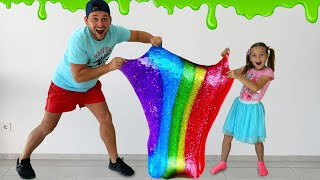 Sofia and her brother both want the same slime