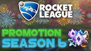 MY SEASON 6 RANK!   Rocket League