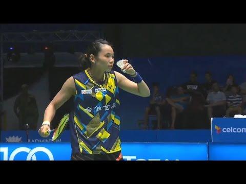 2017 Tai Tzu Ying vs Carolina Marin - Malaysia Open GF 戴資穎 v 馬琳 馬來西亞羽毛球公開賽 總決賽