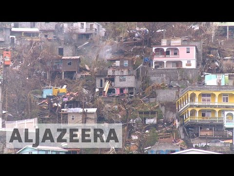 Small island of Dominica hit hardest by Hurricane Maria