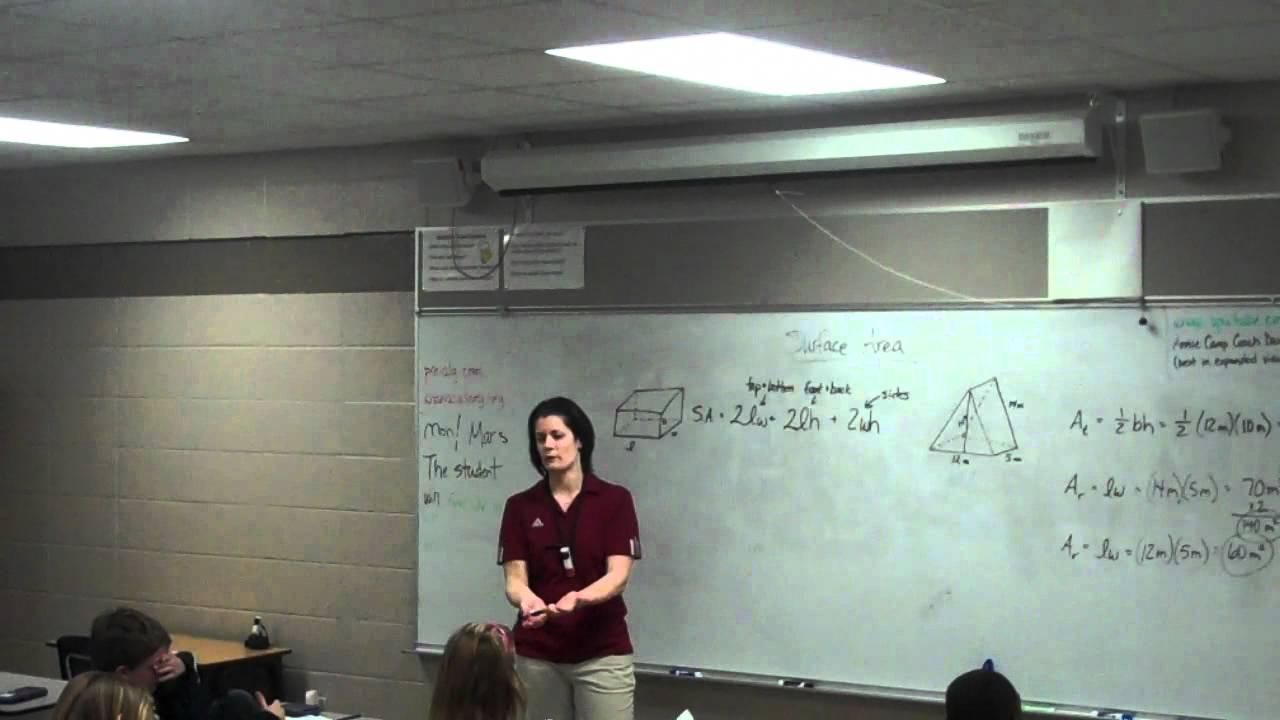 Coach Davis Pre Ap Math Class Annie Camp 7th Grade Youtube