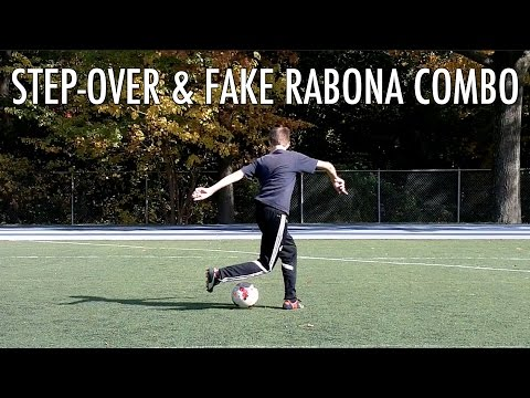 Step-Over And Fake Rabona Combo : Advanced Dribbling Skill