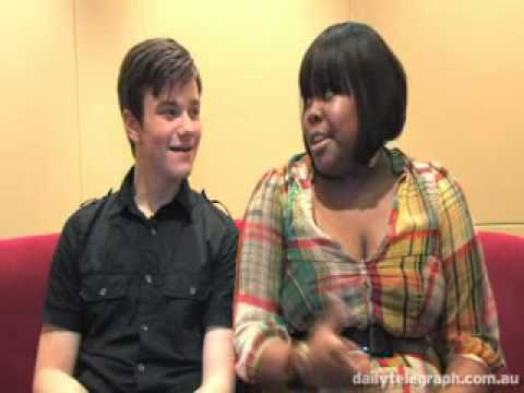 Cast of 'Glee' Talks with The Daily Telegraph