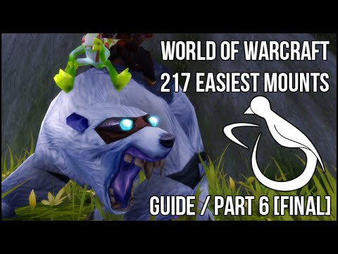 The 217 Easiest Mounts (Guide) - Part 6 - The Final Part